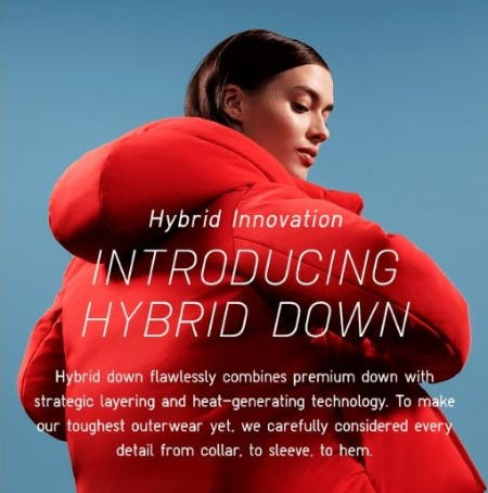 Introducing Hybrid Down from Uniqlo