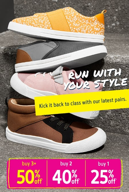 Buy More, Save More Shoes from Oshkosh B'gosh