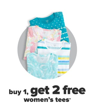 B1G2 Free Women's Tees from Belk