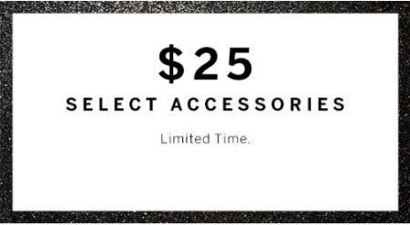 $25 Select Accessories from Victoria's Secret
