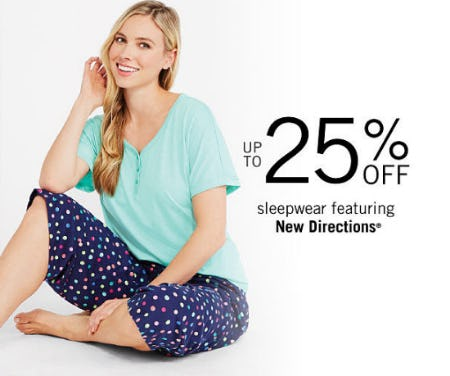 Up to 25% Off Sleepwear from Belk
