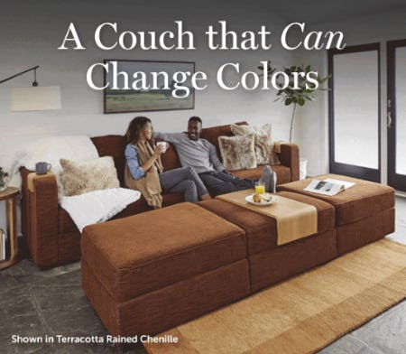 A Couch That Can Change Colors from Lovesac
