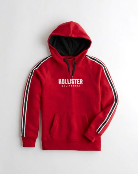 Logo Graphic Hoodie from Hollister Co.