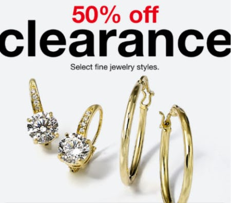 50% Off Clearance from macy's