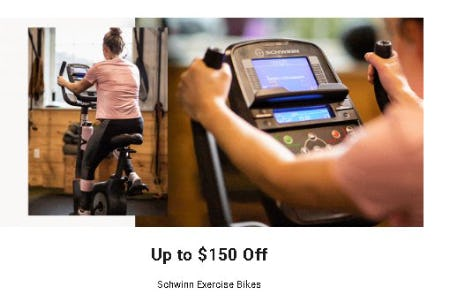 Up to $150 Off Schwinn Exercise Bikes