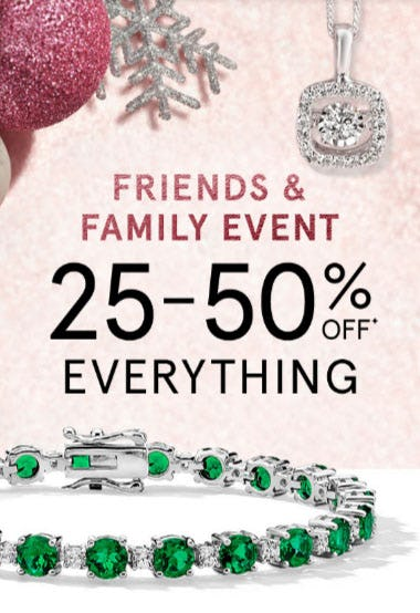 25-50% Off Everything