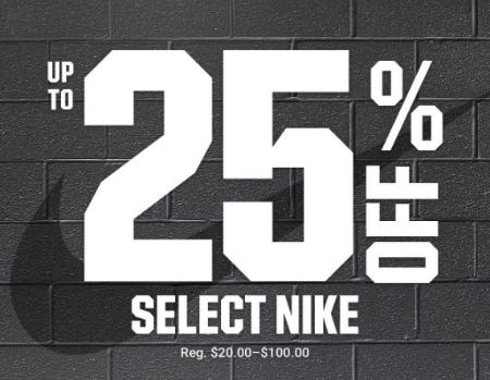 Up to 25% Off Select Nike from Dick's Sporting Goods