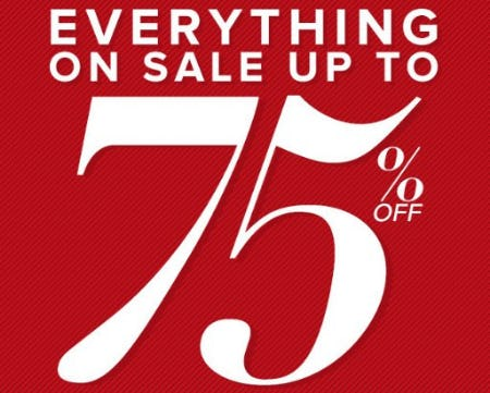 Everything on Sale up to 75% Off from New York & Company