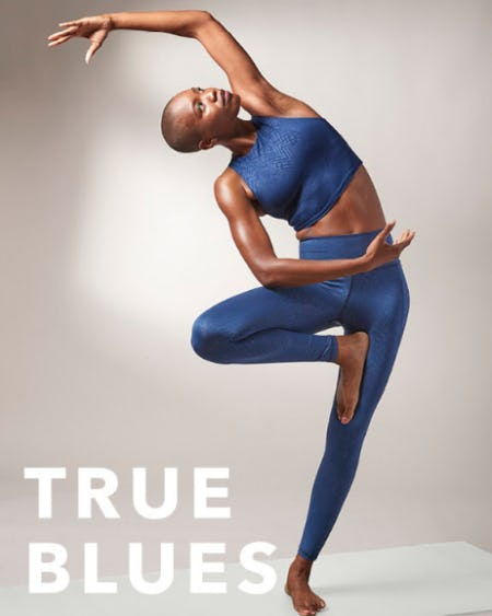 A Color Story: Out of the Blue from Athleta