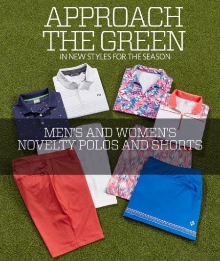 New Summer Golf Styles from Golf Galaxy