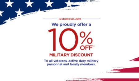 10% Off Military Discount from A Pea In The Pod, Maternity Redefined
