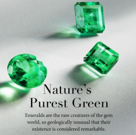 Shop Our Emerald Designs from David Yurman