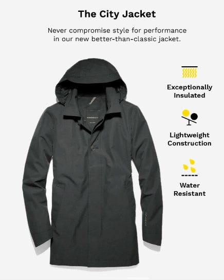 The City Jacket from Cole Haan