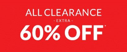 Extra 60% Off All Clearance from The Children's Place
