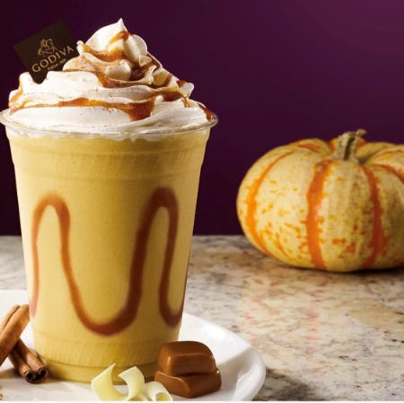 Happy Pumpkin Day! from Godiva Chocolatier