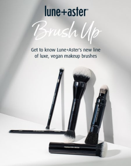 Explore New Makeup Brushes from Lune+Aster