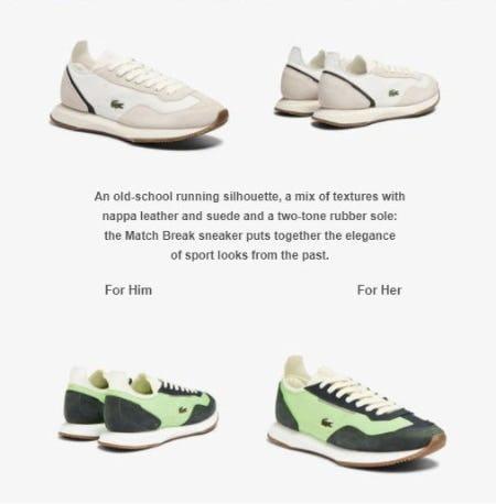 New Match Break Sneakers