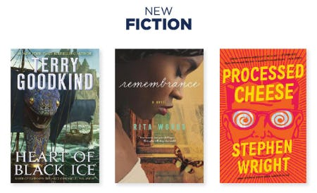 The New Fiction from Books-A-Million
