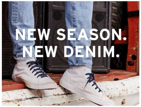 New Denim from The Levi's Store