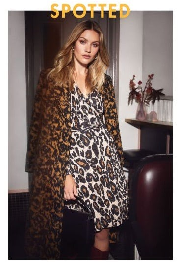 Our Favorite Animal Print in New Silhouettes from Diane von Furstenberg