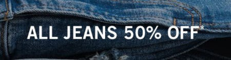 All Jeans 50% Off