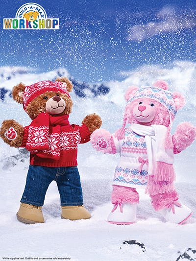 Buy One, Get One for $10 at Build-A-Bear Workshop!