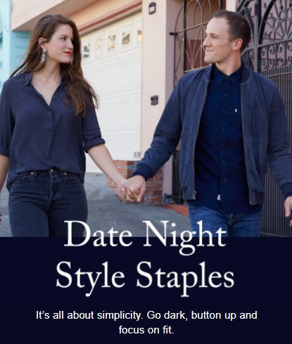 Date Night Style Staples from The Levi's Store