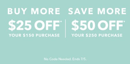 Buy More, Save More from Athleta