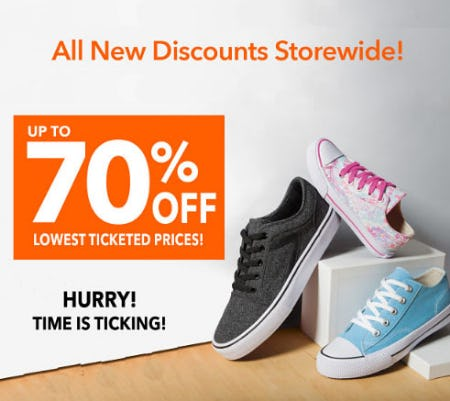 Up to 70% Off New Markdowns from Payless ShoeSource