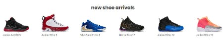 New Shoe Arrivals from Kids Footlocker