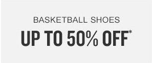 Up to 50% Off Basketball Shoes from Finish Line