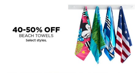 40-50% Off Beach Towels from Kohl's