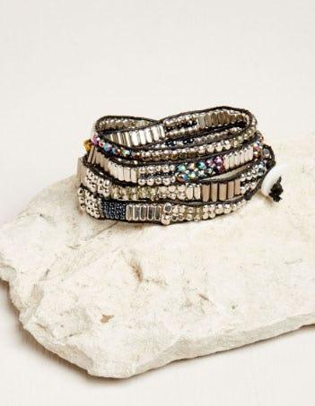 Iridescent Wrap Bracelet