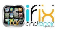 Ifixandrepair + Gear Logo