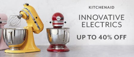 Up to 40% Off Innovative Electrics from Sur La Table