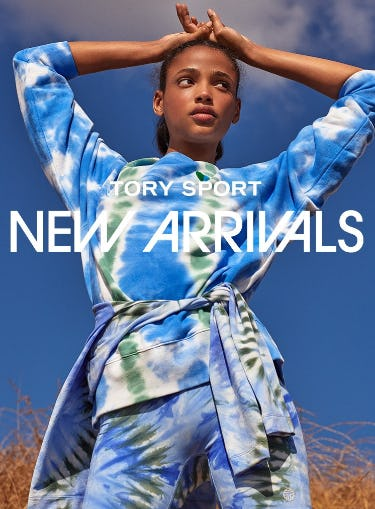 Tory Sport New Arrivals: A New Take on Tie-Dye from Tory Burch