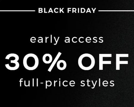 30% Off Full-Price Styles from 7 for All Mankind