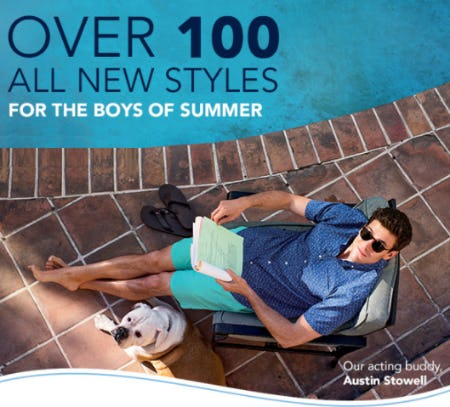 New Summer Styles for Men from vineyard vines