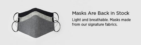 Masks Are Back in Stock from Eileen Fisher