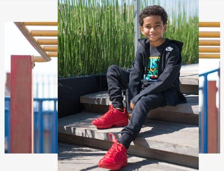 Fleece Jackets for Chilly Days from Kids Foot Locker