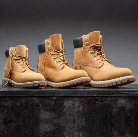 Lace Up your Timbs from Foot Locker