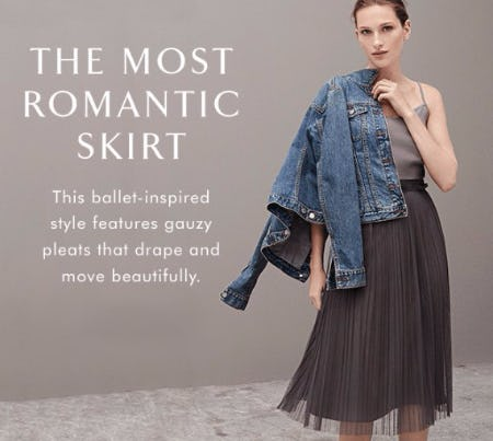 The Most Romantic Skirt