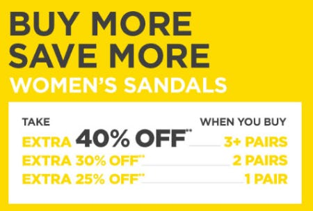 Buy More, Save More Women's Sandals