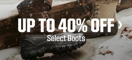 Up to 40% Off Select Boots from Dick's Sporting Goods