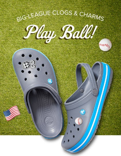 Big League Clogs & Charms from Crocs