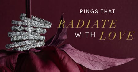 Ring in Valentine's Day Spectacularly from Jared Galleria Of Jewelry