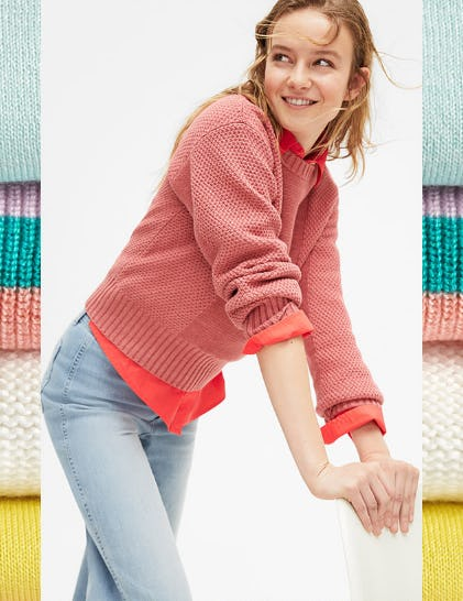 Sweaters in Every Color from Gap