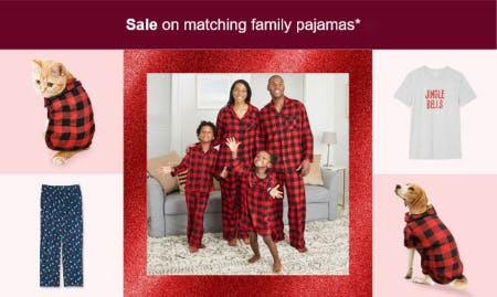 Sale on Matching Family Pajamas