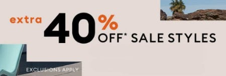 Extra 40% Off Sale Styles from Banana Republic