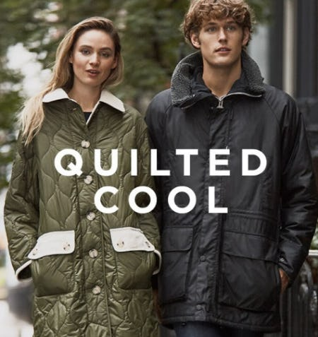 Quilted Cool Styles from Saks Fifth Avenue